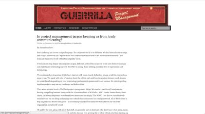 Guerrilla-project-management